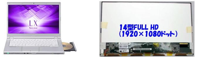 CF-LX6液晶パネル