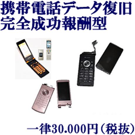 携帯電話データ復旧