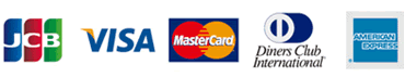 クレジットカードでお支払いが可能です。