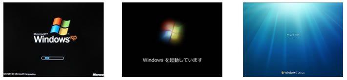 windowsロゴ画面から先に進まない